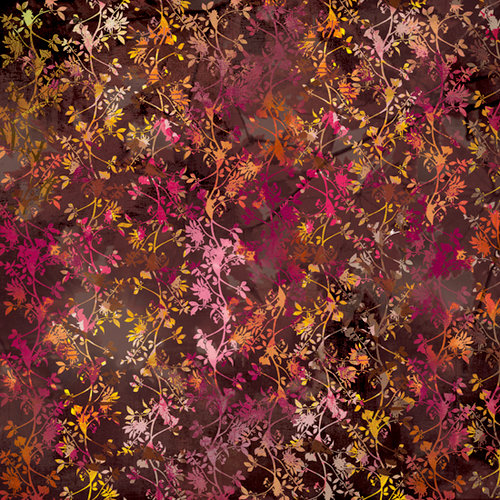 BasicGrey - Indian Summer Collection - 12 x 12 Paper - Apple Butter, CLEARANCE