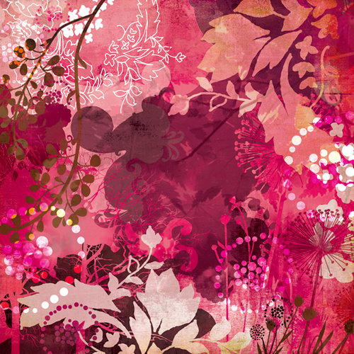 BasicGrey - Indian Summer Collection - 12 x 12 Paper - Gooseberry