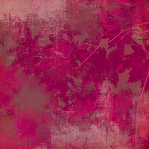 BasicGrey - Indian Summer Collection - 12 x 12 Paper - Plum Wine