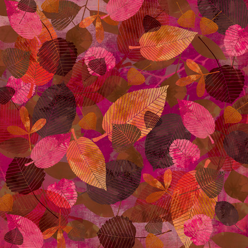 BasicGrey - Indian Summer Collection - 12 x 12 Paper - Russet