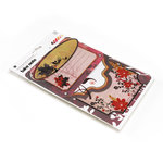 BasicGrey - Indian Summer Collection - Take Note Journaling Cards with Tranparencies, CLEARANCE