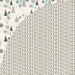 BasicGrey - Juniper Berry Collection - Christmas - 12 x 12 Double Sided Paper - Garland