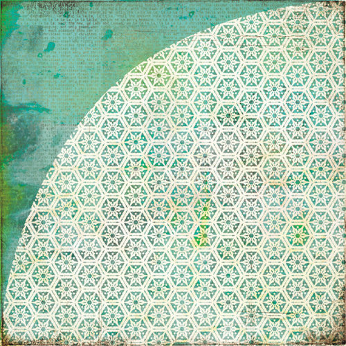 BasicGrey - Jovial Collection - 12 x 12 Double Sided Paper - Blizzard