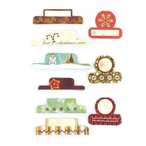 BasicGrey - Jovial Collection - Office Tabs - Self Adhesive Paper Labels