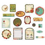 BasicGrey - Jovial Collection - Die Cut Cardstock Pieces