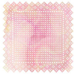 BasicGrey - June Bug Collection - Doilies - 12 x 12 Die Cut Paper - Swiss Dot - Pink