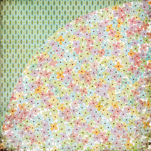 BasicGrey - Kioshi Collection - 12 x 12 Double Sided Paper - Lilo