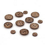 BasicGrey - Kissing Booth Collection - Wooden Buttons