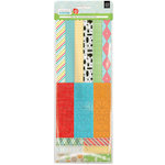 BasicGrey - Knee Highs and Bow Ties Collection - Vellum Tape Stickers - Bow Ties