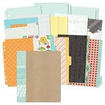 BasicGrey - Knee Highs and Bow Ties Collection - 7 x 9 Journaling Binder