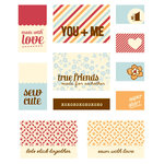 BasicGrey - Lucille Collection - Canvas and Silk Embroidered Tags