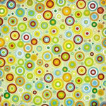 BasicGrey - Lime Rickey Collection - 12x12 Double Sided Paper - Sarsaparilla, CLEARANCE