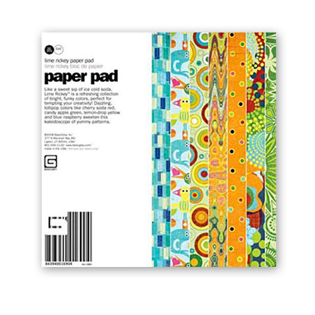BasicGrey - Lime Rickey Collection - 6x6 Paper Pad