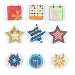 BasicGrey - Life of the Party Collection - Small Details - Decorative Stickers - Fasteners