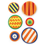 BasicGrey - Life of the Party Collection - Woolies - 3 Dimensional Felt Stickers