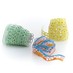BasicGrey - Life of the Party Collection - Doilies - Self Adhesive Ribbon
