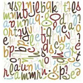 BasicGrey - Mini Monograms Die-Cuts - Mellow - Wilma, CLEARANCE