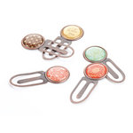 BasicGrey - Curio Collection - Clips, BRAND NEW