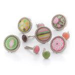 BasicGrey - Sweet Threads Collection - Glazed Brads