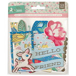 BasicGrey - Mint Julep Collection - Adhesive Chipboard - Shapes