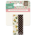 BasicGrey - Mint Julep Collection - Fabric Tape