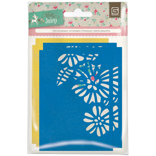 BasicGrey - Mint Julep Collection - Mini Envelopes