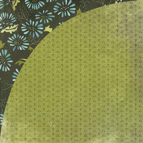 BasicGrey - Marjolaine Collection - 12 x 12 Double Sided Paper - Turtle Pie