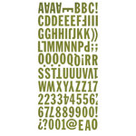 BasicGrey - Marjolaine Collection - Mini Monogram Stickers