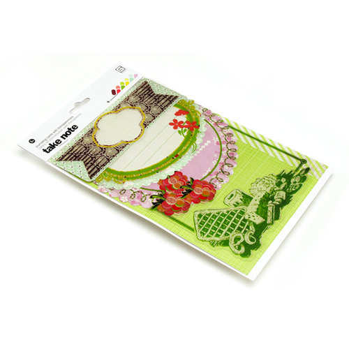 BasicGrey - Nook and Pantry Collection - Take Note Journaling Cards with Transparencies, CLEARANCE