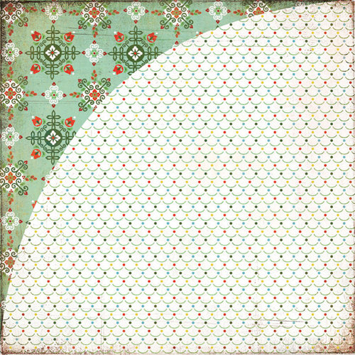 BasicGrey - Nordic Holiday Collection - Christmas - 12 x 12 Double Sided Paper - Moguls