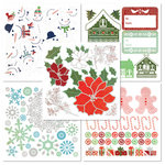 BasicGrey - Nordic Holiday Collection - Christmas - Rub On Book