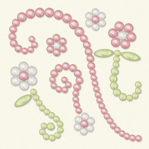 BasicGrey - Opaline Collection - Pearls - Wonder Half Pearls - Pink, CLEARANCE