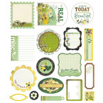 BasicGrey - Origins Collection - Die Cut Cardstock Pieces, BRAND NEW