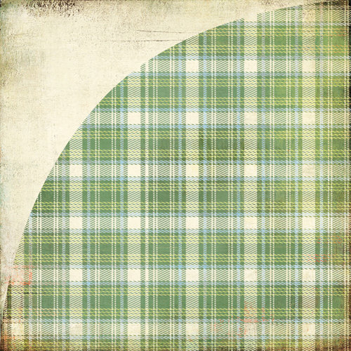 BasicGrey - Oxford Collection - 12 x 12 Double Sided Paper - Preppy Plaid