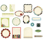 BasicGrey - Oxford Collection - Die Cut Cardstock Pieces