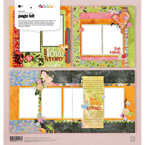 BasicGrey - Sugar Rush Collection - Page Kit