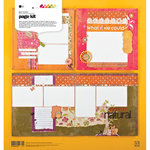 BasicGrey - Green at Heart Collection - Page Kit, CLEARANCE
