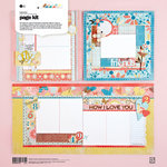 BasicGrey - Hopscotch Collection - Page Kit