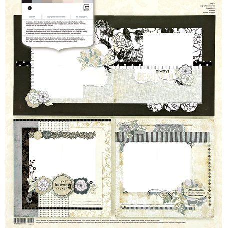 BasicGrey - Little Black Dress Collection - Page Kit
