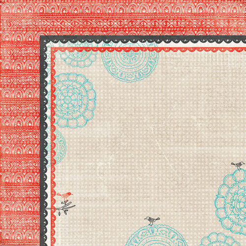 BasicGrey - Paper Cottage Collection - 12 x 12 Double Sided Paper - Evening Stroll