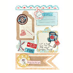 BasicGrey - Paper Cottage Collection - Layered Stickers