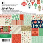 BasicGrey - 25th and Pine Collection - Christmas - 6 x 6 Paper Pad