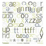 BasicGrey - Mini Monograms Die-Cuts - Periphery - Sweets, CLEARANCE