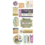 BasicGrey - Plumeria Collection - Title Stickers