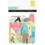 BasicGrey - Prism Collection - Die Cut Cardstock and Transparency Pieces
