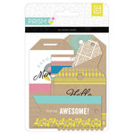 BasicGrey - Prism Collection - Printed Kraft Tags