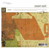 BasicGrey - 6x6 Paper Pads - Recess