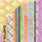 BasicGrey - Sugar Rush Collection - 12 x 12 Double Sided Paper - Nerds, CLEARANCE