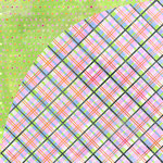 BasicGrey - Sugar Rush Collection - 12 x 12 Double Sided Paper - Licorice, CLEARANCE