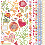 BasicGrey - Sugar Rush Collection - Element Stickers - Shapes
